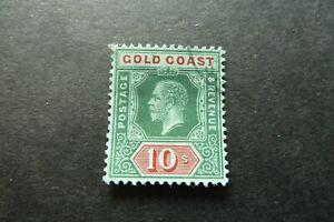 GOLD COAST  1913  George V   10/-   SG 83   used