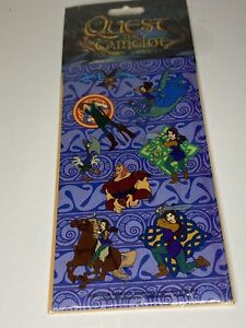Quest For Camelot Stickers 1998 Blue