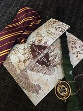 Potter Hermione Book Week Costume Kit- Wand, Map, TimeTurner,Tie FREE SHIPPING!