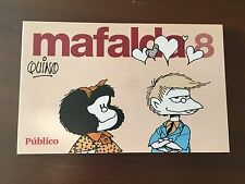 MAFALDA VOLUMEN 8 - TIRAS DE QUINO - 84 PAGS - COLECCIONABLE PUBLICO - SPANISH