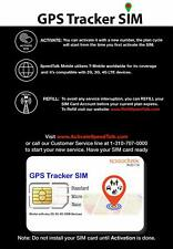 2G 3G 4G Devices GPS Tracker Triple Cut SIM Card Starter Kit Universal SIM