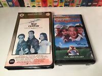 Chevy Chase 80's Comedy VHS Lot of 2 Deal Of The Century & Caddyshack Special Ed