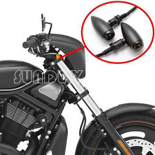 2X Motorcycle Bullet Turn Signal Indicators amber Light Bulb For Harley Chopper