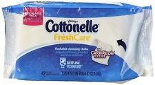 Cottonelle Fresh Care Flushable Moist Wipes Refills 42-count (Package of 3)