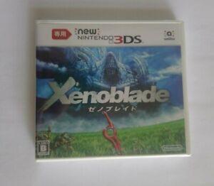 BRAND NEW Japan Ver. Nintendo New 3DS dedicated Xenoblade Chronicles 3D NTSC-J