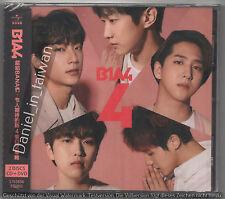 B1A4: 4 Four - Japanese Album (2017) CD & DVD SEALED