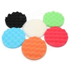6pcs 6 Inch Sponge Buffer Foam Pad Buffing Pad Polishing Tool