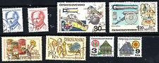 stamps CZECHOSLOVAKIA A580(2) A620(2) A642(2) A630(2) LOT