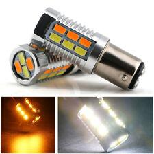 2x 1157 5630SMD Bernstein / Weiß 22 LEDs LED Birnen DRL Bremslicht 12V-24V DC