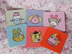 Animal Crossing, Sanrio Cards.