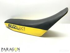 98#1 96 97 98 99 00 Suzuki RM250 RM 250 Seat Complete Seat Assembly Yellow Black