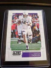 2019 Score #411 Clayton Thorson RC Dallas Cowboys Northwestern