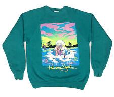 Vintage 80s-90s Panama Jack Wind Surfing Crewneck Raglan Sweatshirt 21� X 26�