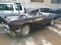 1969 Plymouth Barracuda. Ultra rare RHD Convertible. V8 Mopar A Body Project.