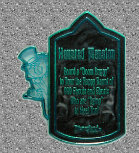 DISNEY Pin  Phineas Haunted Mansion Attraction Sign - Surprise Release - LE 500