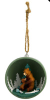 DISNEY PARKS DISNEYLAND PARIS BROTHER BEAR KODA KENAI BAUBLE CHRISTMAS ORNAMENT