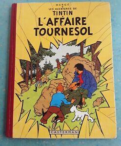 TINTIN - L' AFFAIRE TOURNESOL -  EO FRANCE IMP DANEL B19 1956 - TBE