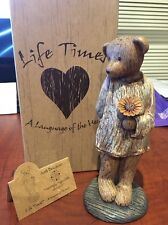 """Boyds Bears """"Just Because"""" Life Times Collectible Figurine"""