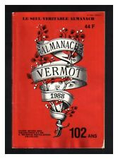 ALMANACH VERMOT 1988 BE CADEAU ANNIVERSAIRE