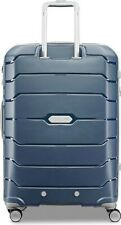Samsonite Expandable Hard Side Luggage with Double Spinner Wheels Navy 28 inch
