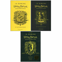 Harry Potter Series 3 Books Collection Set by J.K. Rowling Hardback NEW