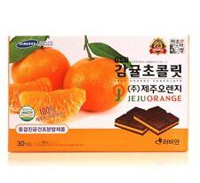 Jeju Orange Chocolate Lovian 30pcs, 285g