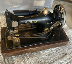 Vintage Singer Sewing Machine B.R. 7 Motor Number 5385433 Antique Untested