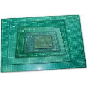 Cutting Mat Printed Grid Non Slip Paper Card Desktop A1 A2 A3 A4 A5 Mats