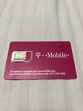 New T-Mobile Prepaid Sim Card With $150 Credit Loaded