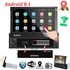 Android 8.1 GPS Navi Wifi Bluetooth USB 7'' Radio para coche MP5 Player 1Din