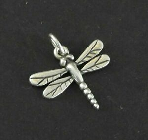 James Avery Charm Dragonfly Bracelet Insect Bug Solid 925 Sterling Silver