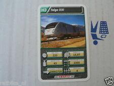 22 SUPER TRAIN H3 TALGO XXI TREIN KWARTET KAART, QUARTETT CARD