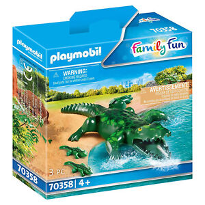 Playmobil Alligator  With Babies Set 70358 NEW IN STOCK