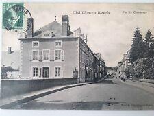 CPA CHÂTILLON EN BAZOIS Rue Du Commerce
