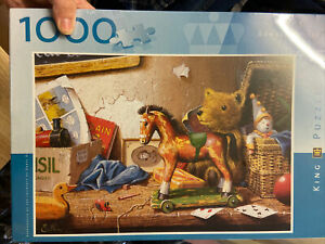 King Puzzle, 'Toys' by Edward Hersey, 1000 Piece Jigsaw