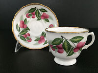 Mid-Century Modern Royal Malvern bone china cup & saucer England c.1950+