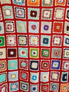 Crochet Granny Square Throw/Blanket