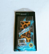 Reusable Leopard Print Skin Decal Sticker Cover for Nintendo DS Lite System