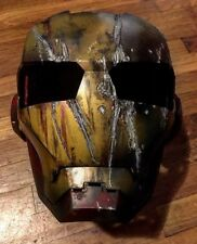 Iron Man Helmet 2010 Hasbro Marvel Cosplay custom or display distressed