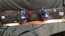 NOS!! Vision Apocolypse 154mm Snowboard K2 Plasma Bindings Freestyle Trick Board