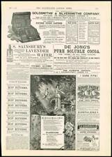 1887 Antique Print - ADVERTISEMENT GOLDSMITHS SILVERSMITHS FLORILINE  (35)