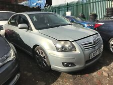 2007 TOYOTA AVENSIS 1.8 VVTI SALOON IN SILVER BREAKING SPARES PARTS