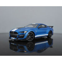 Pre-Order Maisto 1:18 Scale 2020 Ford Mustang GT GT500 Blue Car Model NEW IN BOX