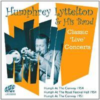 Humphrey Lyttelton - Classic Live Concerts - Humphrey Lyttelton CD GKVG The Fast