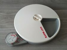 Cat Mate C50 Automatic 5 Meal Pet Feeder & Timer for Cats & Small Dogs Working