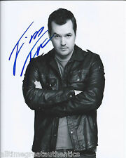 COMEDIAN JIM JEFFERIES HAND SIGNED AUTHENTIC LEGIT STAND UP 8X10 PHOTO 9 w/COA