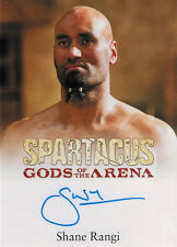 Spartacus 2012 Autograph Card signed by Shane Rangi as Dagan