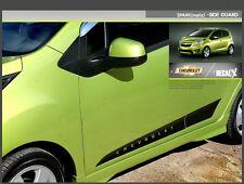 Side Guard Deacl Carbon Sticker for Chevrolet SPARK