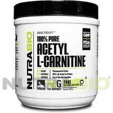 NutraBio Acetyl L- Carnitine Powder - 150 Grams