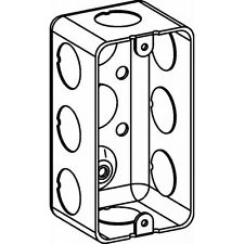 Orbit DHB-1-50 Singal Gang Handy Box 1.88 Inch Deep 0.5 Inch KO